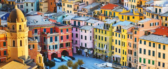 Photo des Cinq terres en Italie